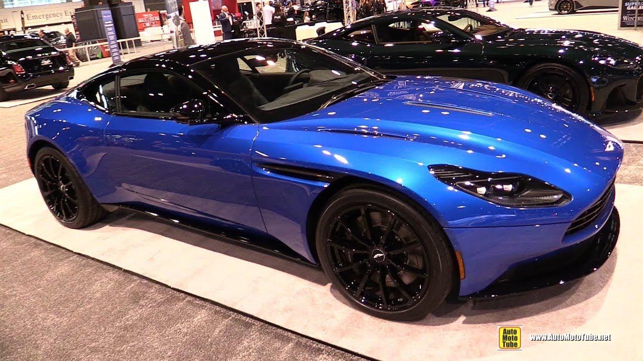 2020 Aston Martin Db11 Exterior Walkaround 2020 Chicago Auto Show Youtube
