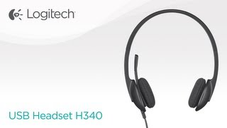 Stereo USB Headset with Microphone H340 - Logitech