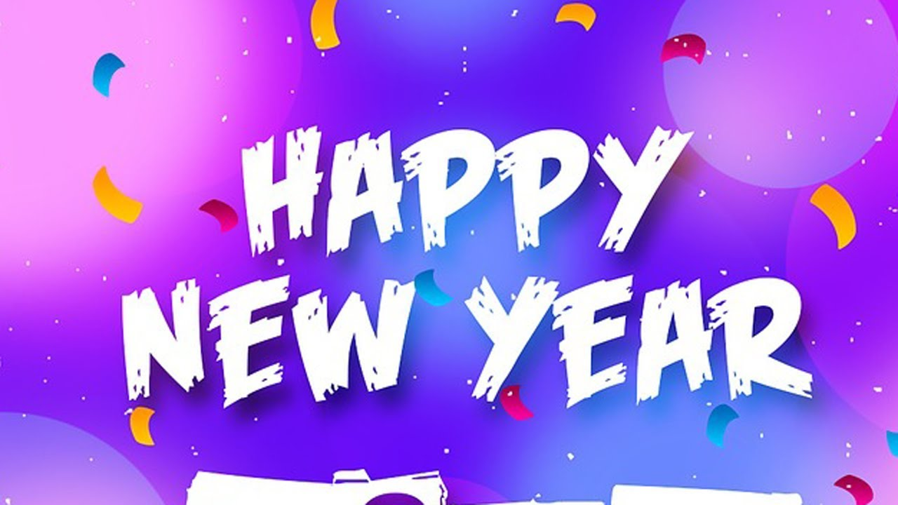 Happy New Year 2018, Images, Wishes, Whatsapp Video Download, Greetings,  Wallpaper, Animation, Music
