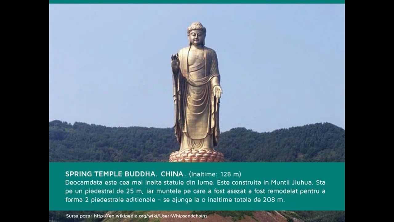 Andreea Tonciu Wikipedia 10 dintre cele mai inalte statui din lume - youtube
