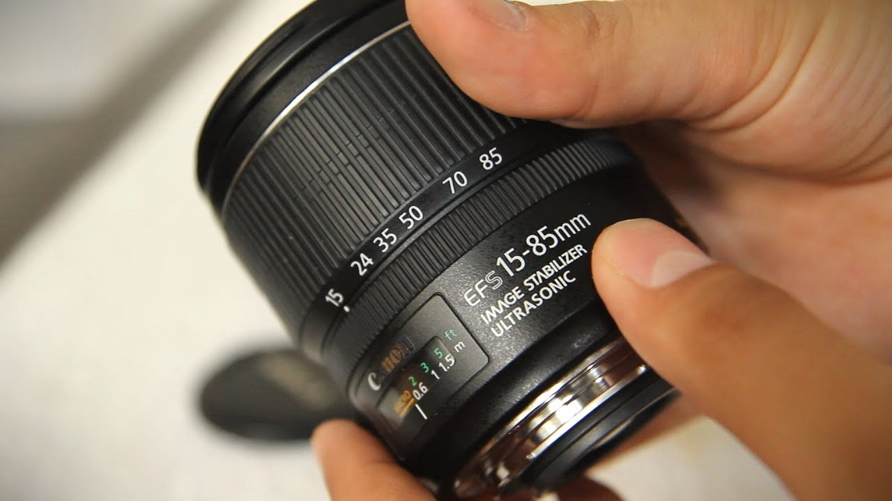 Canon Ef S 15 85mm F 3 5 5 6 Is Usm Lens Review With Samples Youtube