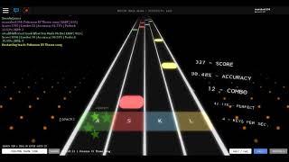 """Roblox Rhythm Track (Mobile):""""Pokemon XY Theme Song"""""""