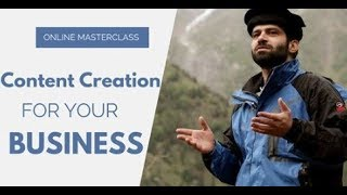 Content Creation for your Business - Masterclass by Momekh (Ur/Hi)