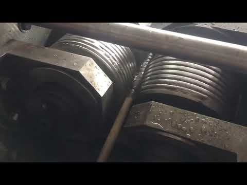 Two Rollers Thread Rolling Machine, Screw Making Machine Prices