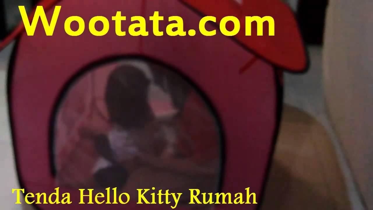 Tenda Hello Kitty Murah Di Bandung Youtube