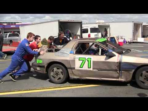 LeMons Car Race at Charlotte Motor Speedway (Sept. 24, 2011)