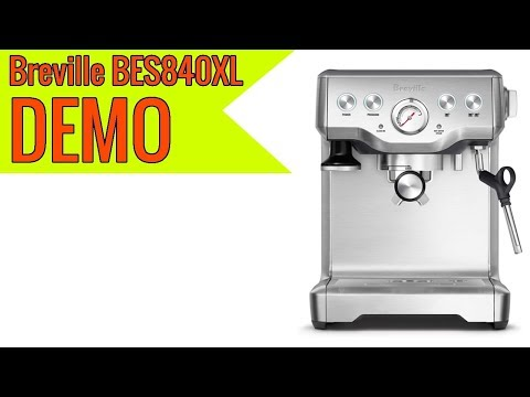 Breville BES840XL the Infuser Espresso Machine 2019 review