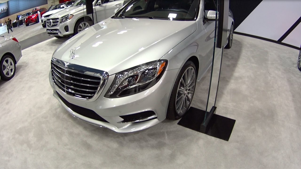 2017 Mercedes Benz S550 Sedan >> 2017 Mercedes Benz S550 Sedan Motor Show Take Review Youtube