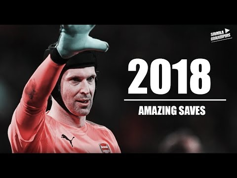 Petr Čech ► Amazing Saves Show 2018 - FC Arsenal - HD