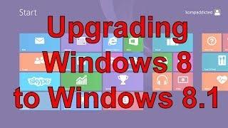 How to Upgrade Windows 8 to Windows 8.1