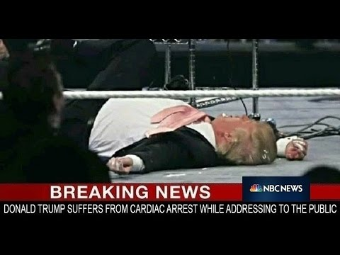 DONALD TRUMP DIED OF HEART ATTACK: HOAX