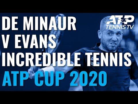 Incredible Winners & Match Point From Evans vs De Minaur EPIC! | ATP Cup 2020 Quarter-Finals