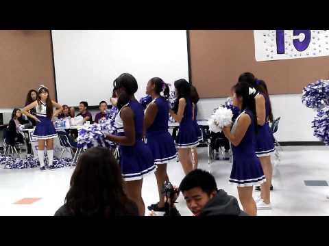 Kerr Cheerleader Pep Rally