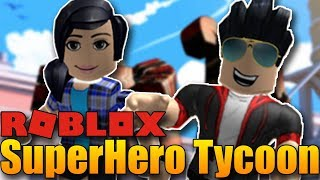 Stavíme Deadpool Tycoon!😱 | ROBLOX: Superhero Tycoon #1 w/Makousek