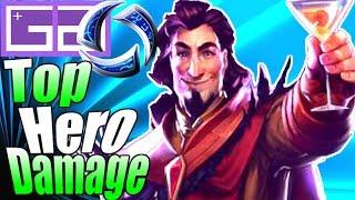 HOTS Medivh MVP Gameplay! Top Hero Damage! Medivh Assassin Build