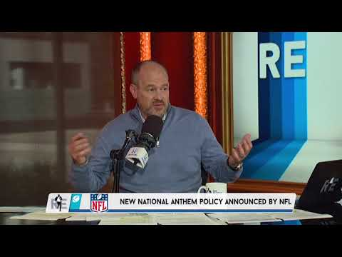 Rich Eisen Breaks Down the NFL's New Anthem Policy Rules | 5/23/18