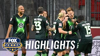 Wolfsburg stuns Leverkusen in 4-1 blowout, Marin Pongračić scores twice | 2020 Bundesliga Highlights