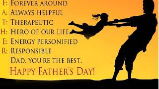 Happy Father's Day To Male Survivors of Narcissistic Abuse