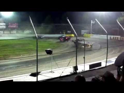 The knight of destruction tour of destruction live at lake county speedway camp and boat pull
