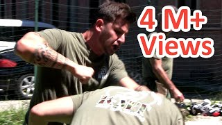 KRAV MAGA TRAINING • How to Knock Out ANYONE