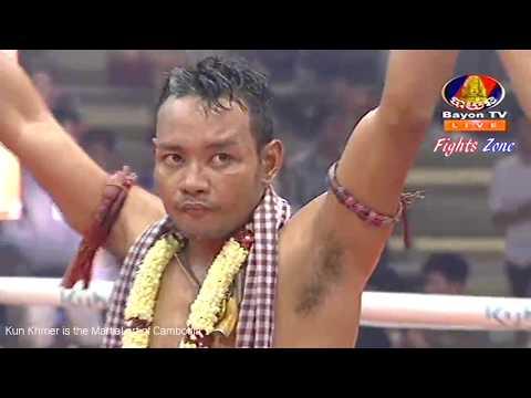 Kun Khmer, Phal Sophorn Vs Thai, Farnimith, Bayon boxing, 22 June 2018, Knockout | Fights Zone thumbnail