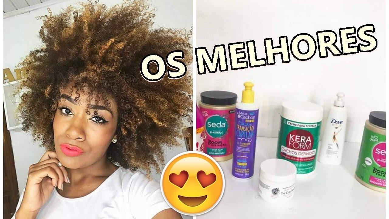 Os Melhores Cremes De Pentear Para Cabelo Crespo Sah Oliveira