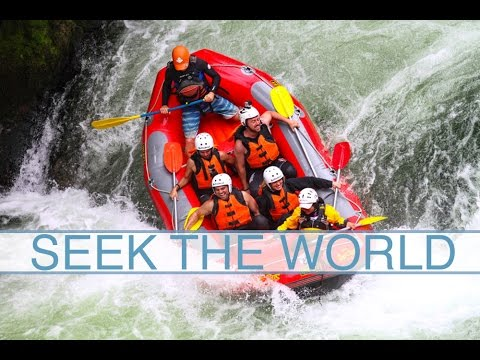 New Zealand: Rafting on Kaituna River, World's Highest Rafted Waterfall