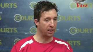 Liverpool Legend Robbie Fowler In Singapore