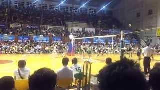 141028 unigames volleyball finals w dlsu nu set 2 2