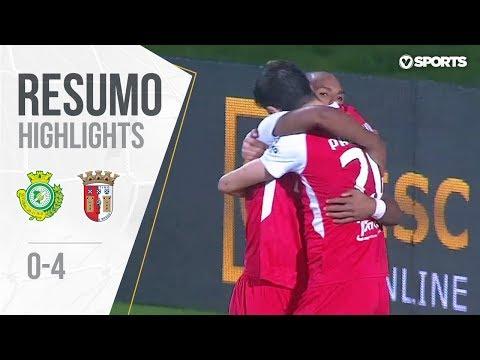 Highlights | Resumo: V. Setúbal 0-4 Sp. Braga (Allianz Cup #3)