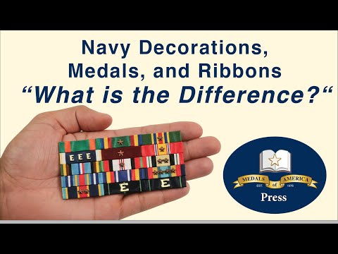 Navy Decorations, Service Medals, Unit Awards And Ribbons Only Awards. Do You Know The Difference?