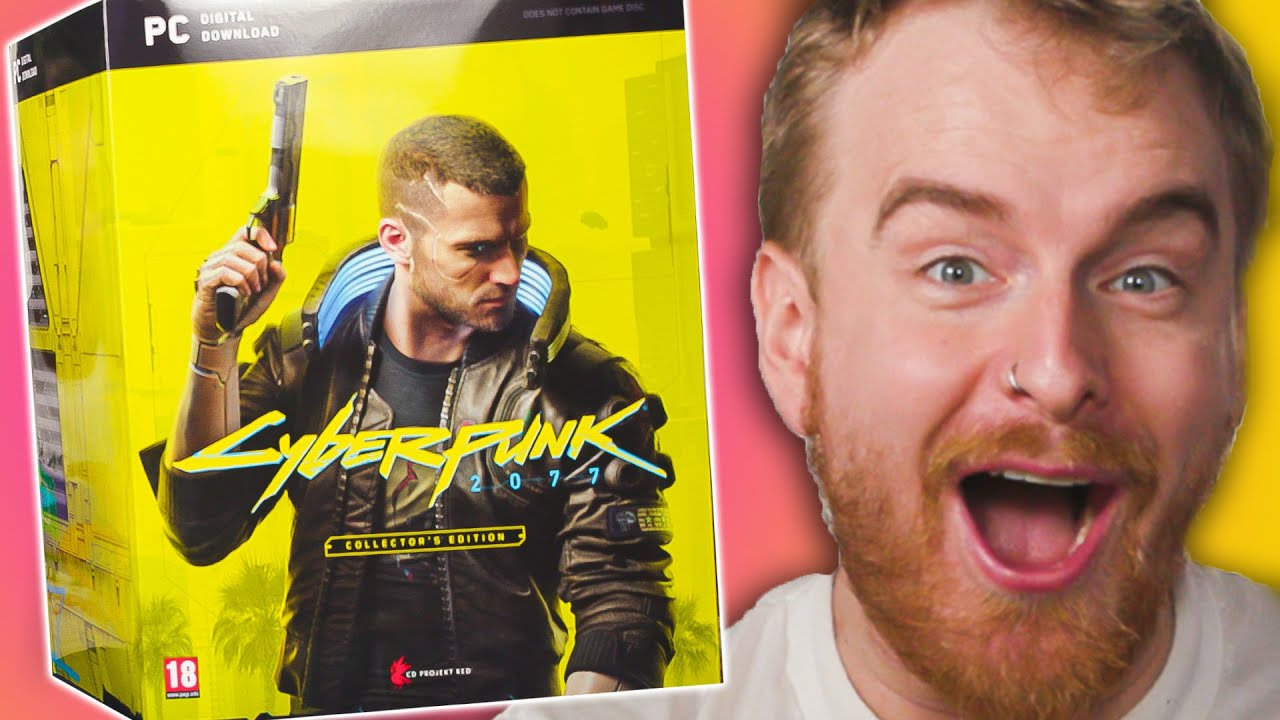 Unboxing the buggiest game of 2020! - Cyberpunk 2077