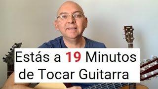 Aprende Guitarra en 19 Minutos - Si Estás En Cero