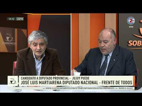 Sobremesa: José Luis Martiarena