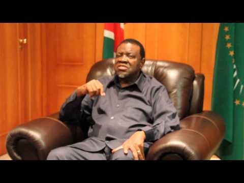 Hage Geingob speaks on land 12-03-2015