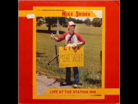 Live At The Station Inn [1986] - Mike Snider