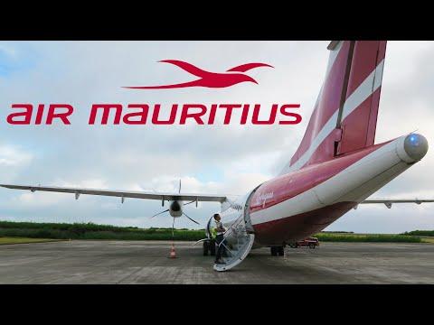 Air Mauritius ATR 72-500   Рейс Маврикий - Родригес