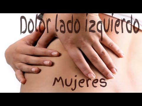 dolor lado izquierdo panza embarazo