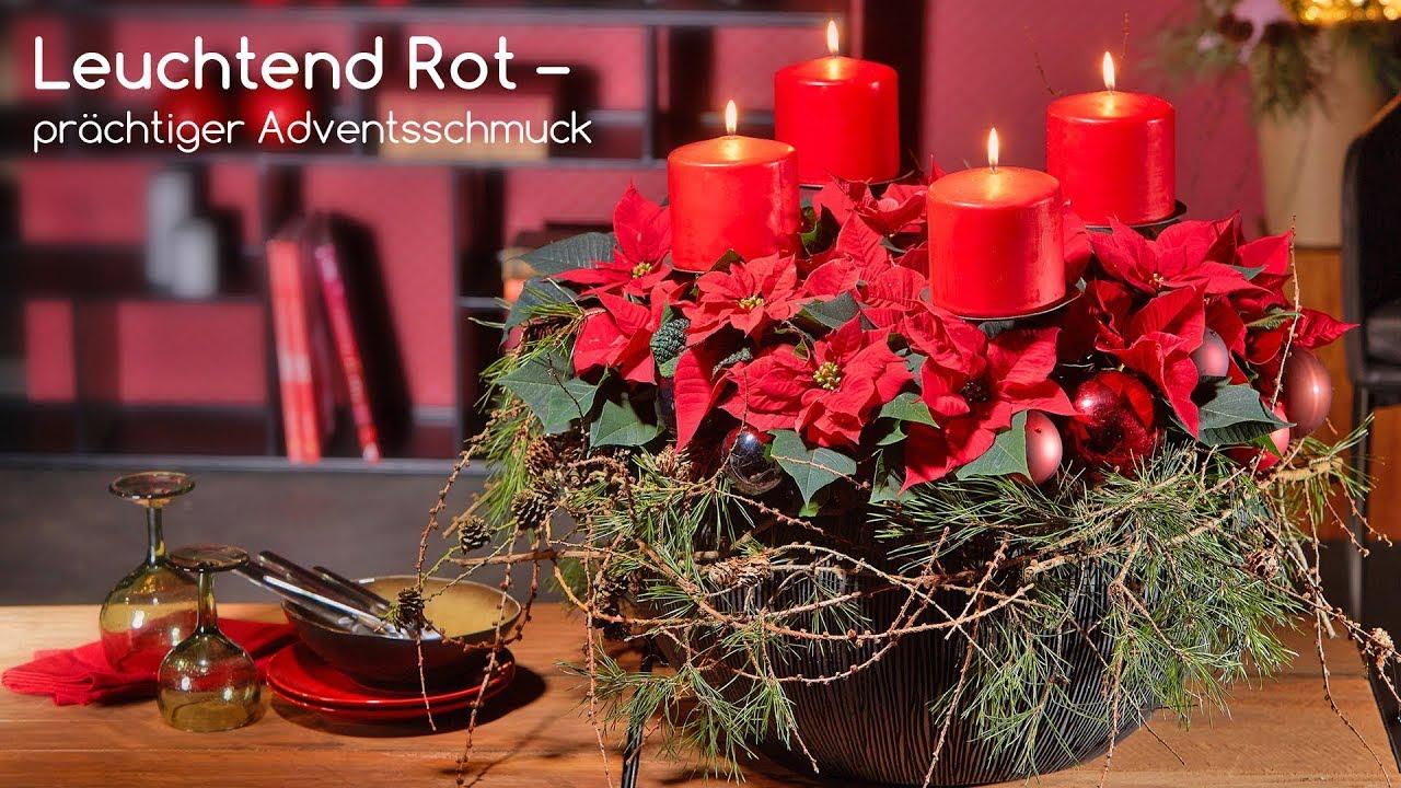 adventskranz rot 2017 europ ische weihnachtstraditionen. Black Bedroom Furniture Sets. Home Design Ideas
