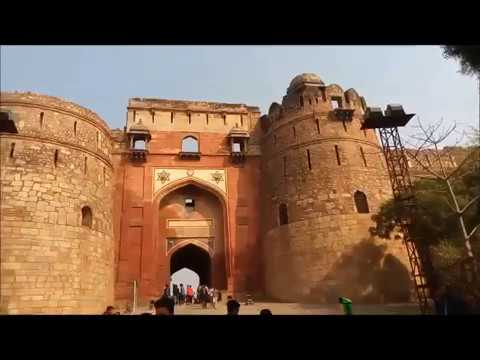 purana qila history in hindi, old fort new delhi, Bharat Darshan