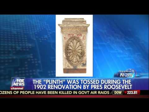 The White House Plinth up for sale at RR Auction