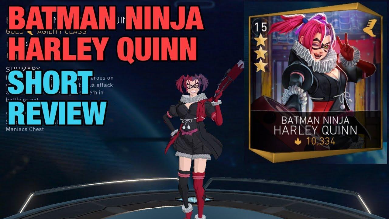 Injustice 2 Mobile Batman Ninja Harley Quinn Review Gameplay Youtube