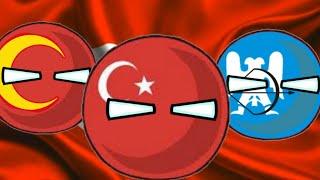 History Of Turkey - CountryBall