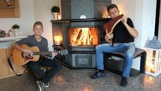 Joy  to the world - Freue Dich Welt! Jannik & David Döring - Panflute & Guitar | Panpipe | Pan Flute