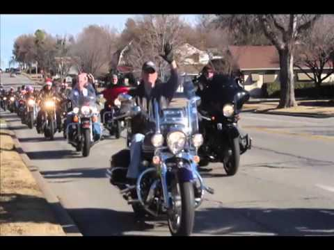 Tulsa ABATE Toy Run for Marine Corp Toys for Tots 2013
