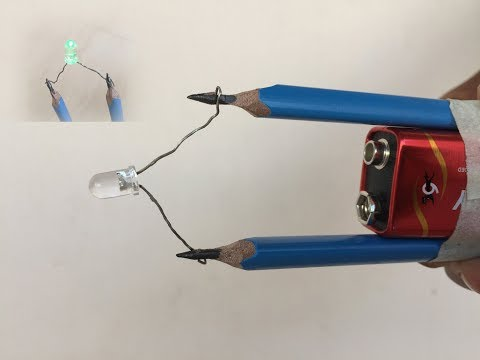 How to Make a Pencil Emergency Light (Pencil Torch) at Home