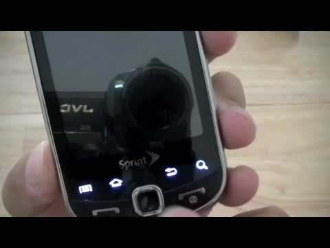 Sprint Samsung Intercept Part 1: Unboxing & Quick Look