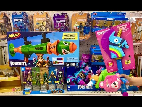 Fortnite Toys Hunt - New Fortnite Sets, Action Figures, And Fortnite Nerf Toys - Bounce Pad & Traps