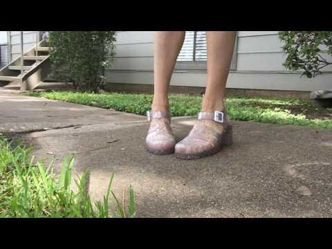 Cute Shoe Depot | Glitter Jelly Heels