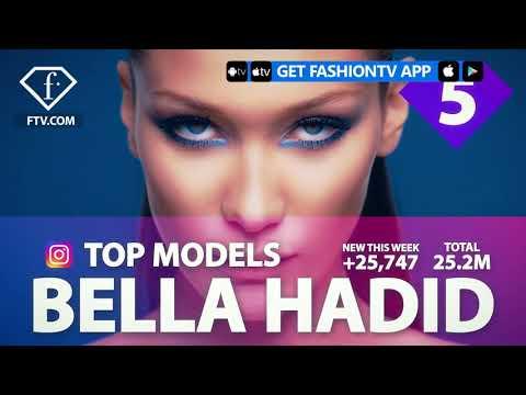 Bella Hadid, Elsa Hosk, Liu Wen Instagram Top Ten Models of the Week | FashionTV | FTV